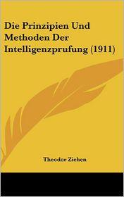 Die Prinzipien Und Methoden Der Intelligenzprufung (1911) - Theodor Ziehen
