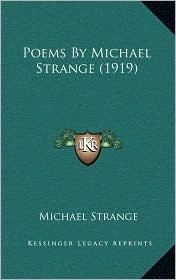 Poems By Michael Strange (1919) - Michael Strange