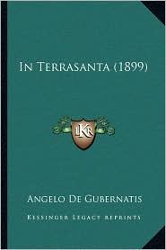 In Terrasanta (1899) - Angelo De Gubernatis