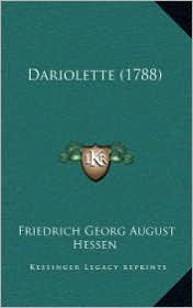 Dariolette (1788) - Friedrich Georg August Hessen