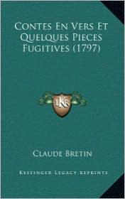 Contes En Vers Et Quelques Pieces Fugitives (1797)