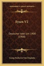 Eysen V2 - Georg Freiherrn Von Ompteda
