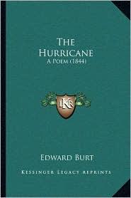 The Hurricane: A Poem (1844) - Edward Burt