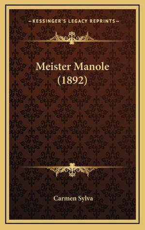 Meister Manole (1892) - Carmen Sylva