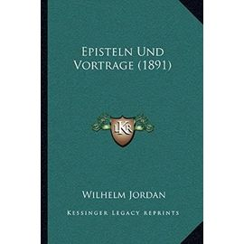 Episteln Und Vortrage (1891) - Unknown