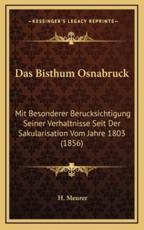 Das Bisthum Osnabruck - H Meurer