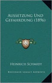 Aussetzung Und Gefahrdung (1896) - Heinrich Schmidt