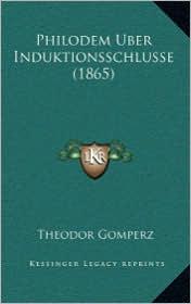 Philodem Uber Induktionsschlusse (1865)