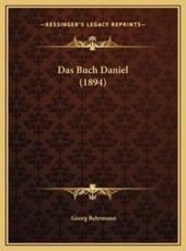 Das Buch Daniel (1894) - Georg Behrmann