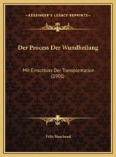 Der Process Der Wundheilung - Felix Marchand