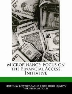 Microfinance: Focus on the Financial Access Initiative - Monteiro, Bren Scaglia, Beatriz