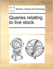 Queries relating to live stock.