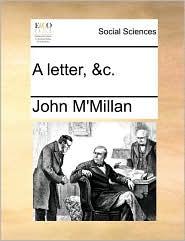 A letter, &c. - John M'Millan