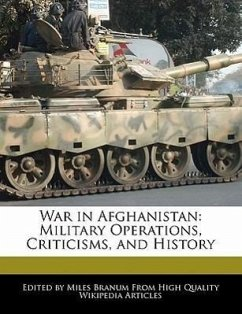 War in Afghanistan: Military Operations, Criticisms, and History - Wright, Eric Branum, Miles