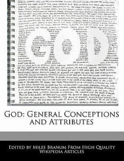 God: General Conceptions and Attributes - Wright, Eric Branum, Miles