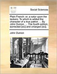 Plain French - John Dunion