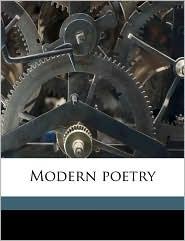 Modern Poetry - Guy Noel Pocock