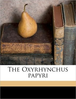The Oxyrhynchus papyri Volume 14