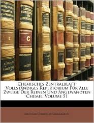 Chemisches Zentralblatt - Deutsche Chemische Gesellschaft