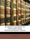 A Child's History of England - Anonymous
