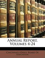Annual Report, Volumes 4-24