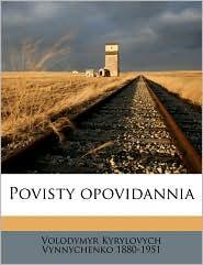 Povisty opovidannia - Volodymyr Kyrylovych Vynnychenko
