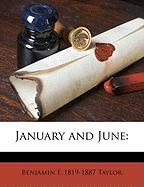 January and June