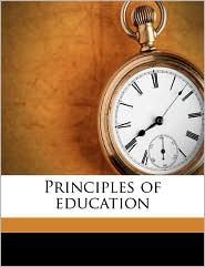 Principles of education - Malcolm MacVicar