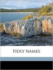Holy names - Julian Kennedy Smyth