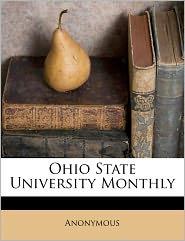 Ohio State University Monthly Volume 4, no.3 - Anonymous