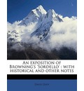An Exposition of Browning's 'Sordello' - David Duff