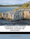 Introduction to the Natural History of Language - T G 1859 Tucker