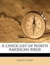 A Check List of North American Birds - Elliott Coues