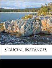 Crucial instances - Edith Wharton