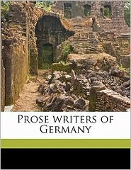 Prose writers of Germany - Frederic Henry Hedge