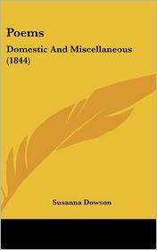 Poems - Susanna Dowson