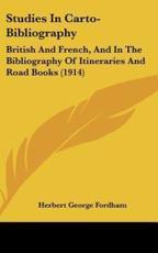 Studies in Carto-Bibliography - Herbert George Fordham