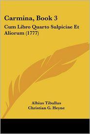 Carmina, Book 3 - Albius Tibullus