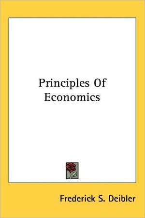 Principles of Economics - Frederick S. Deibler