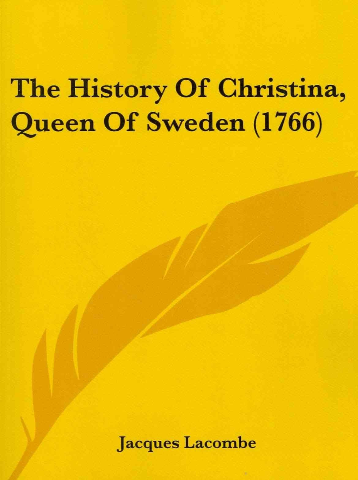 The History of Christina, Queen of Sweden (1766)