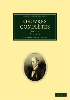 Oeuvres Completes: Series 2 - Cauchy, Augustin-Louis