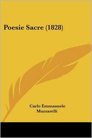 Poesie Sacre (1828) - Carlo Emmanuele Muzzarelli