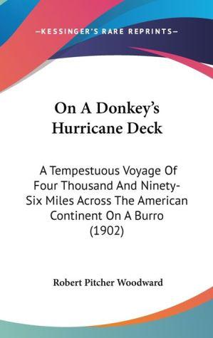On A Donkey's Hurricane Deck - Robert Pitcher Woodward