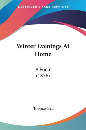 Winter Evenings At Home - Thomas Bell