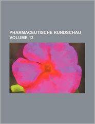 Pharmaceutische Rundschau - Books Group Staff