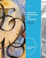 Numerical Mathematics and Computing - E. Cheney, David Kincaid