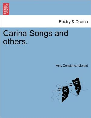 Carina Songs And Others.