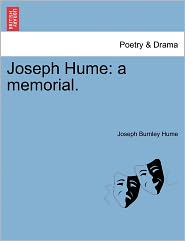 Joseph Hume - Joseph Burnley Hume