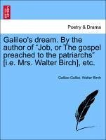 Galileo's dream. By the author of
