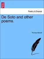 De Soto and other poems. - Mansill, Thomas